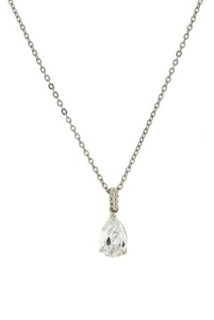 at large monica love necklace pendant co and by santa crystal in teardrop ivory liberty