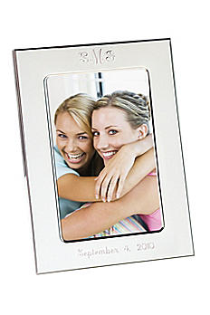 Personalized Silver Picture Frame 41451124