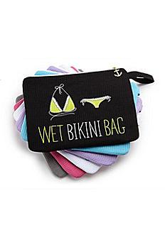 Personalized Waffle Wet Bikini Bag 42001