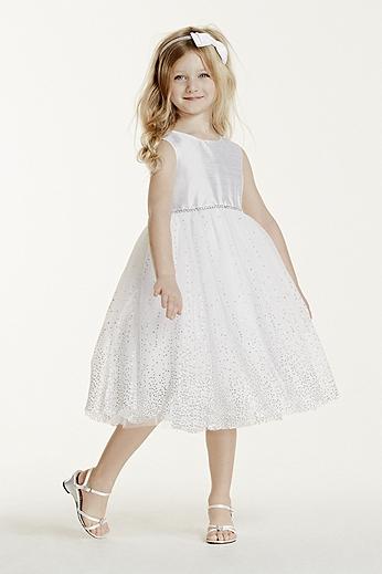 Tea Length Tulle Beaded Ball Gown 42140205