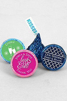 DB Exclusive Pers Colored Foil Hershey Kisses 4218000DB