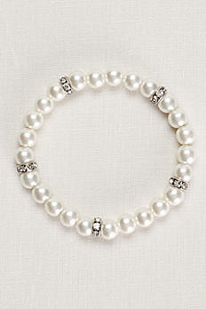 Pearl and Crystal Alternating Bracelet 426529B001