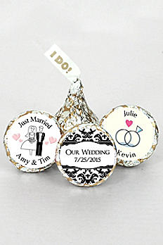 Pers I DO Classic Wedding Silver and Gold Kisses 4307000
