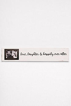 Love Laughter and Happily Ever After Photo Sign 4345080L