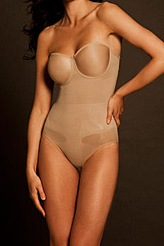 Body Wrap Seamless Body Suit with Molded Cups 44003