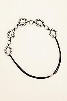 Large Crystal Circle Stretch Headband 443451