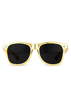 Personalized Metallic Gold Favor Sunglasses