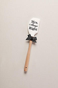 Mr Right and Mrs Always Right Silicone Spatula 46765