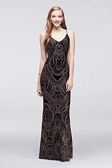 Long Sheath Spaghetti Strap Prom Dress - Jump