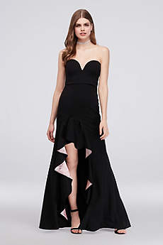 Long Sheath Strapless Formal Dresses Dress - My Michelle