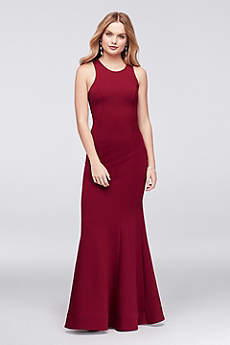 Long Mermaid/ Trumpet Wedding Dress - Sequin Hearts