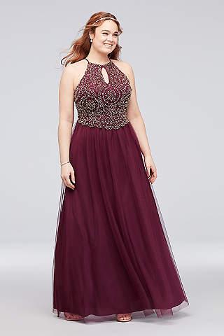 Plus Size Homecoming Dresses   David\'s Bridal