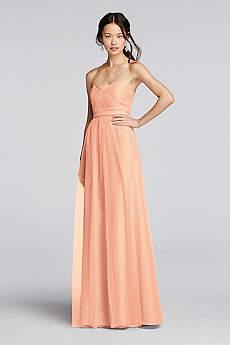 bridesmaid dresses under 100 davids bridal