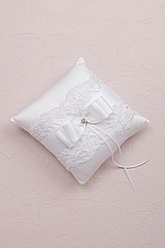 French Lace Ring Bearer Pillow 5003