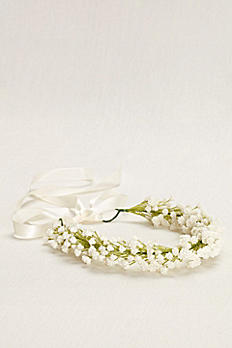 Baby's Breath Floral Wreath 50932X