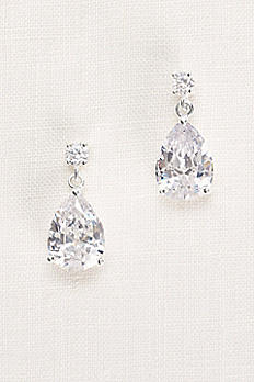 Pear Drop Earrings 52181BDA