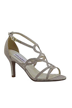 Benjamin Walk Grey (Madison Glitter Loop-Strap Heels)