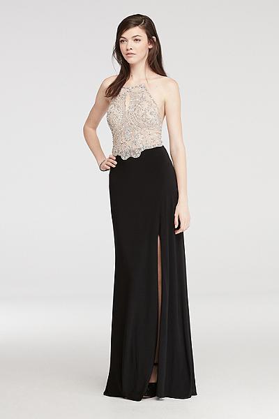 Turmec Halter Top Dress Jewelry