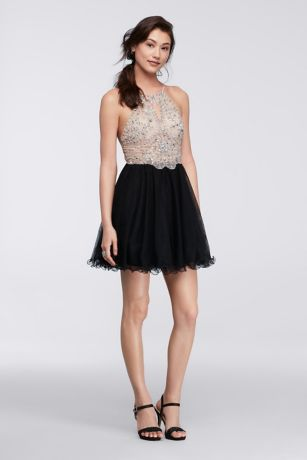 Halter Homecoming Dresses