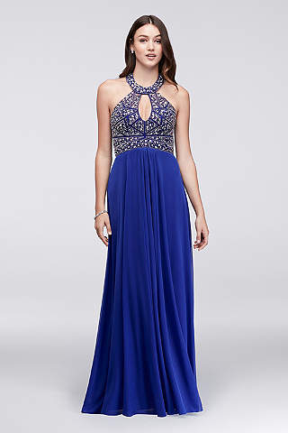 Royal Blue Prom Dresses &amp Gowns  David&39s Bridal