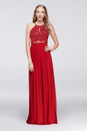 Prom dresses that are red