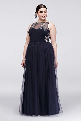 Navy Blue Prom Dresses &amp Gowns  David&39s Bridal