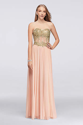 Pink Prom Dresses: Hot & Light Pink | David's Bridal