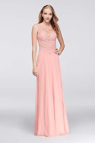 Pink Prom Dresses: Hot &amp Light Pink  David&39s Bridal