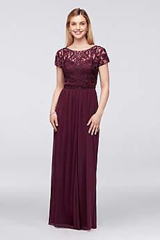 Long A-Line Wedding Dress - Cachet