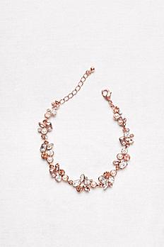 Colorful Stone Cluster Bracelet 60153B