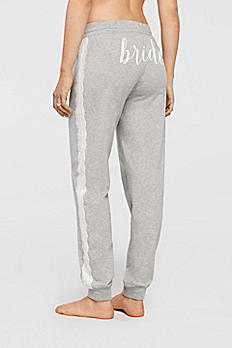 Bride Lounge Pants with Lace 6019KP