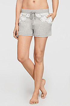 Lounge Shorts with Lace 6041KP