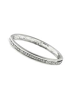 Crystal Hinge Bangle Bracelet 61391