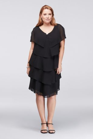 S l fashions black dress black