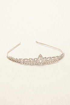 Crystal Beaded Tiara 64053