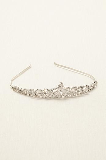 Crystal Beaded Tiara 64053