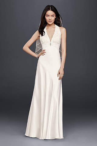 Cheap Wedding Dresses Gowns Under 100 Davids Bridal - Wedding Dress 100