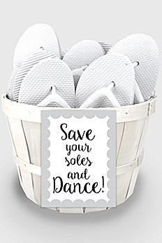 Wedding Flip Flop Favors Set of 16 6830000
