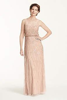 Soft & Flowy Aidan Maddox Long Bridesmaid Dress