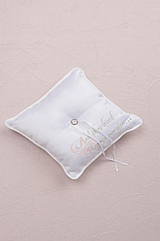 Fairytale Dreams Square Ring Bearer Pillow 7166