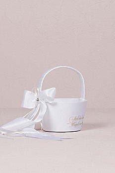 Fairy Tale Dreams Flower Girl Basket 7167