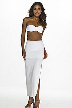 Dominique Full Length Control Slip 7218WHITE