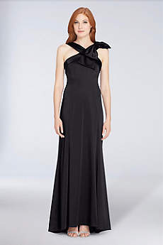 Long Sheath Halter Formal Dresses Dress - Tahari ASL