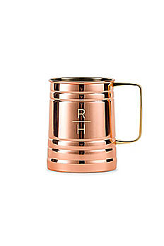 Personalized Stacked Monogram Moscow Mule Stein 7261