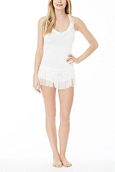 Betsey Johnson Bow Boyshort Set 731903