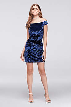 Party Blue Dresses for Women