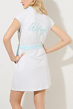 Betsey Johnson Wifey Plus Size Robe 734719WFYX