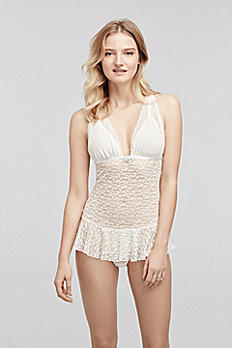 Betsey Johnson Lace Teddy 7371111