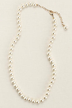 Classic Short Pearl Necklace 80018