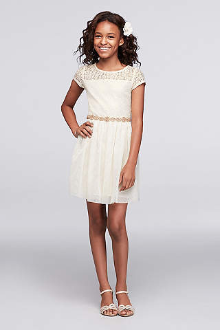 Girls Dresses for All Occasions - David&-39-s Bridal